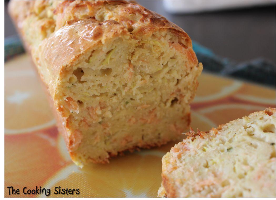 Cake Saumon Boursin Et Courgette