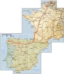 Afstand GSM-Compostela: 2000 km