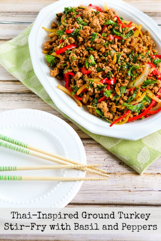 ... Kitchen®: Thai-Inspired Ground Turkey Stir-Fry with Basil and Peppers