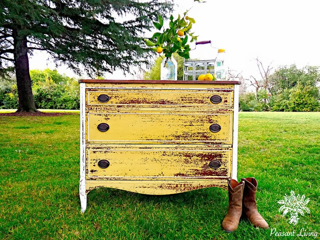 http://www.peasantliving.com/2014/01/my-chippy-yellow-dresser-for-sale-at.html