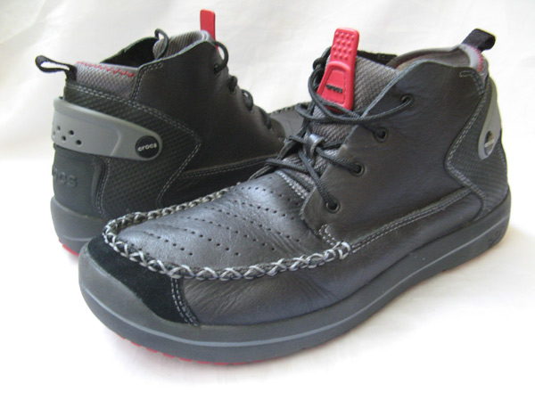 Mens Crocs Hiking Trail Boots Size 12 5