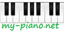 FREE PIANO SHEET MUSIC, Popular Piano Downloads + midi, mp3 & video previews - MY-PIANO.NET