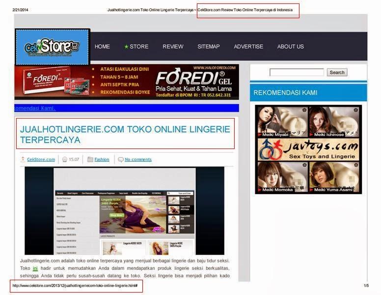 CekStore.com