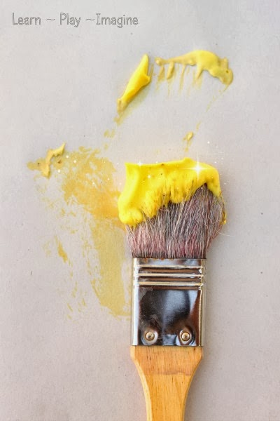 Golden delicious homemade paint recipe for fall