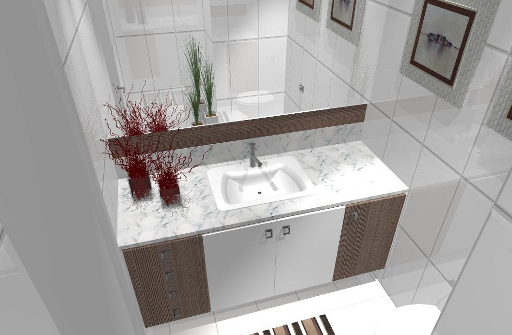Como Colocar Adesivo De Joia Na Unha ~ Ambientes& Ideias Banheiros