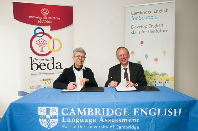 Cambridge English y FERE-CECA renuevan el Programa BEDA