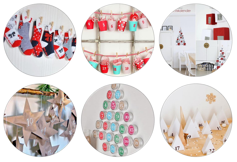 Diy Decoracion Navidad ~ Decoraci?n F?cil 6 DIY CALENDARIOS DE ADVIENTO PARA #NAVIDAD