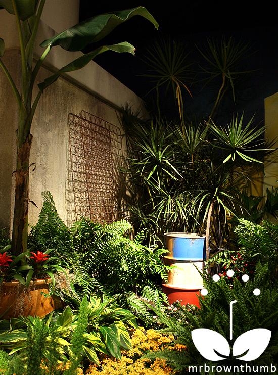 Brazilian slum garden Macy's Flower Show