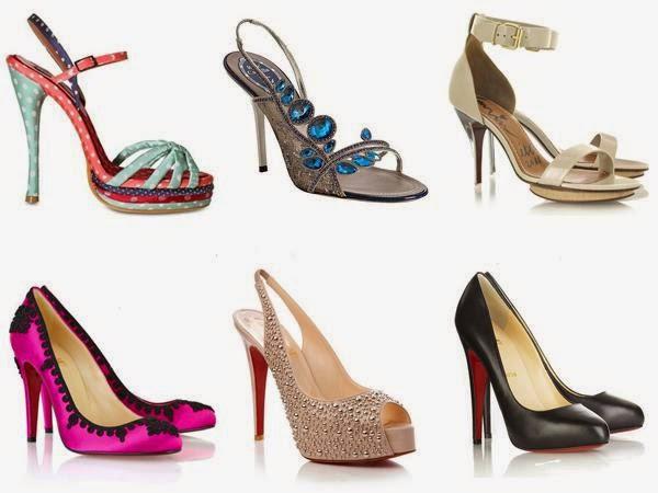 Foto model sepatu sandal hak tinggi terbaru 2017