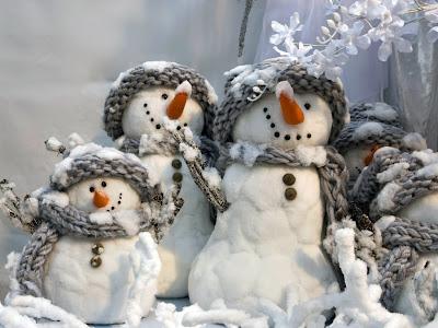 Imágenes para Navidad (Muñecos de Nieve)