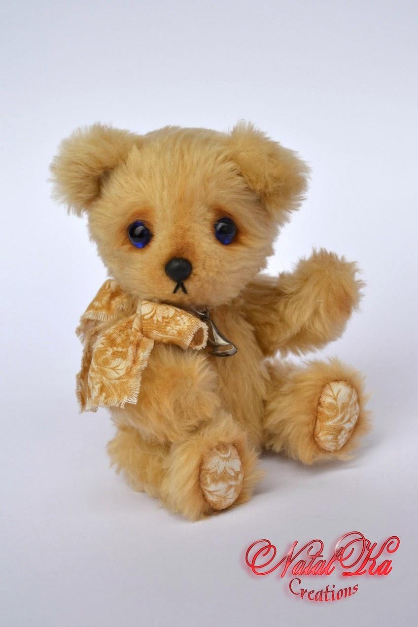 Künstler Teddybär handgemacht von NatalKa Ceations.