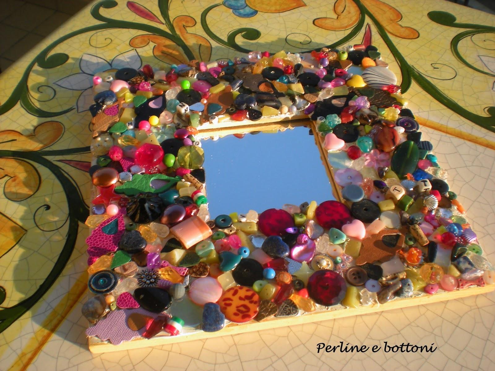 Perline e bottoni ikea colla e caos - Ikea tappeto bottoni ...