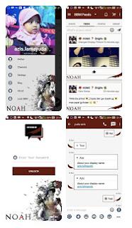 BBM Modif Noah 2.11.0.16 APK + Clone
