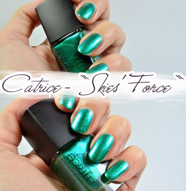 Catrice Feathered Fall LE Luxury Lacquer SKIES' FORCE