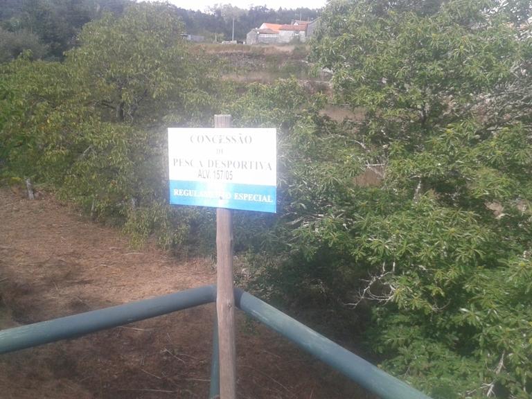 Placa Concessão de Pesca desportiva