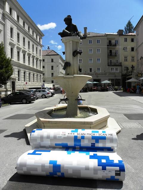 Benches in Salzburg