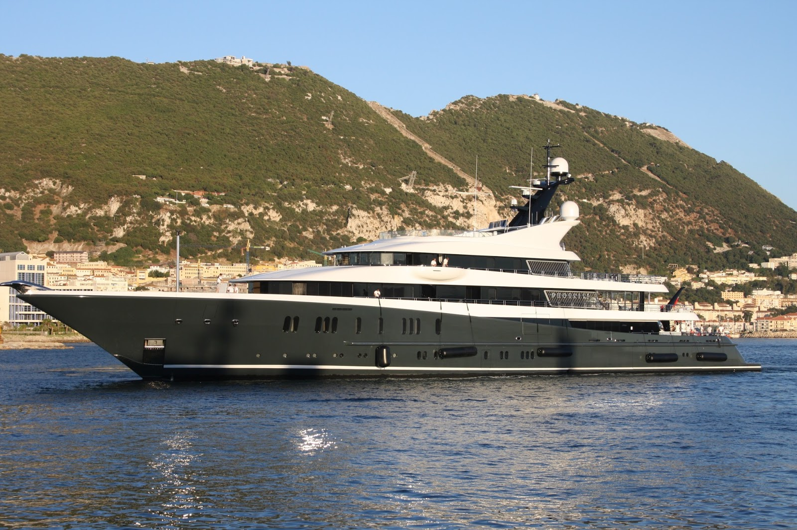 Megayacht PHOENIX 2 Port Side