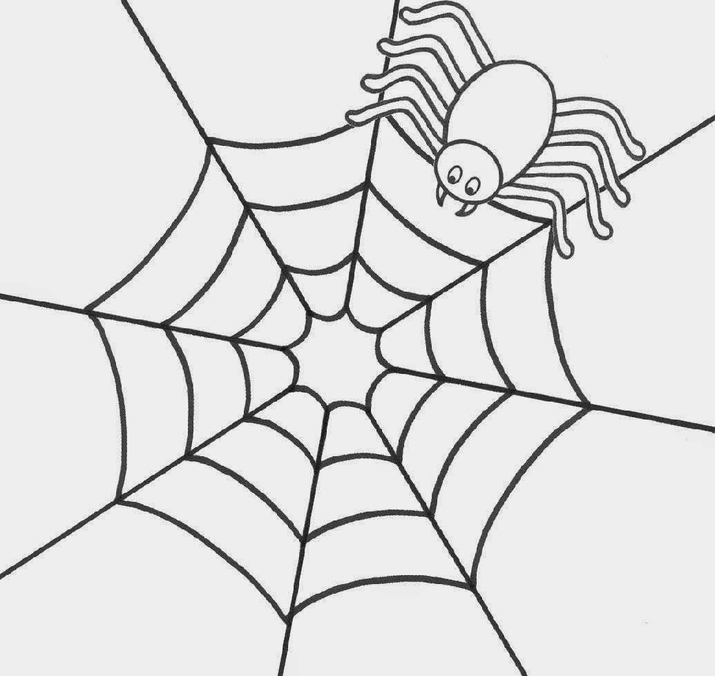 Spider coloring sheet free coloring sheet for Spider coloring pages