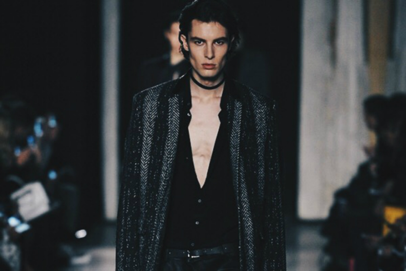 Ana Maddock- Valentine's Day For Him. Costume National AW16-17 Milan Men's Fashion Week