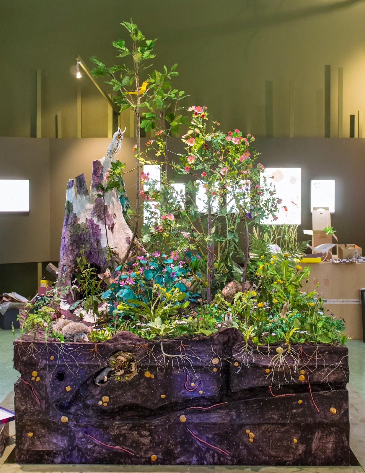 Exposition fleurs en campagne, Bagatelle, Anne-Lise Koehler