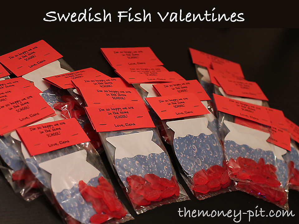 Perfekt Swedish Fish Valentines (How To)