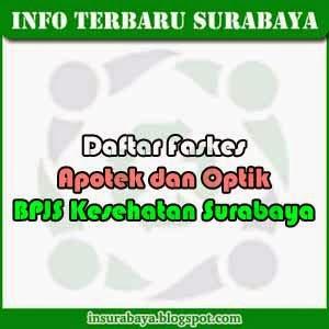 Daftar Faskes Optik dan Apotek BPJS Kesehatan Surabaya