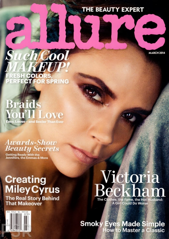 Victoria Beckham HQ Pictures Allure US Magazine Photoshoot March 2014