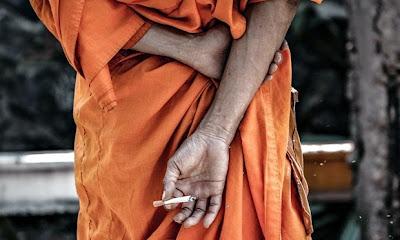 Mönch Thailand