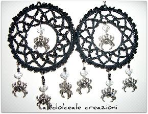 """Orecchini """"spider chandelier"""""""