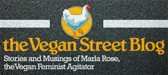The Vegan Street Blog from the Vegan Feminist Agitator