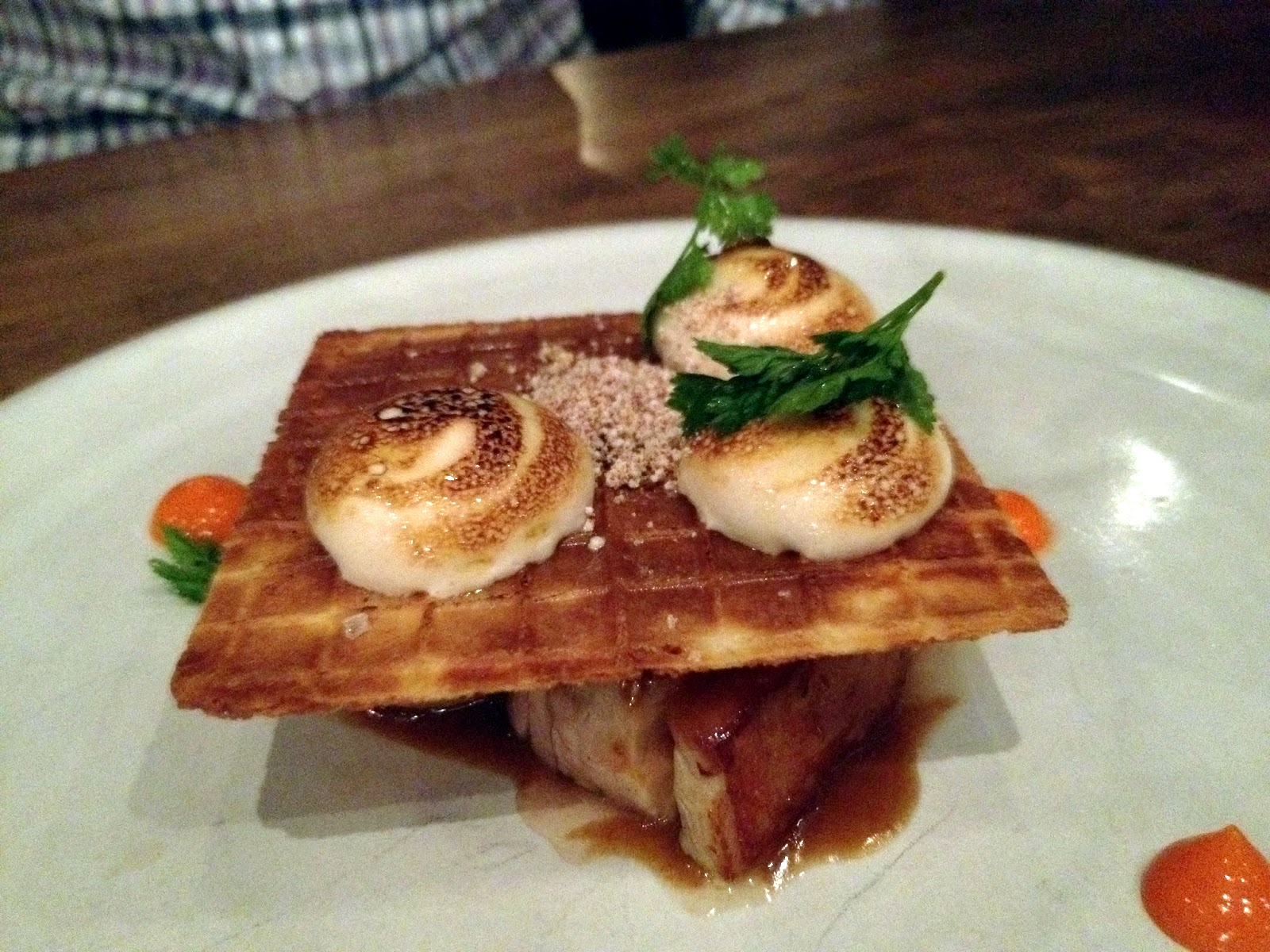 Bourbon and Bleu: dinner at michael voltaggio's ink