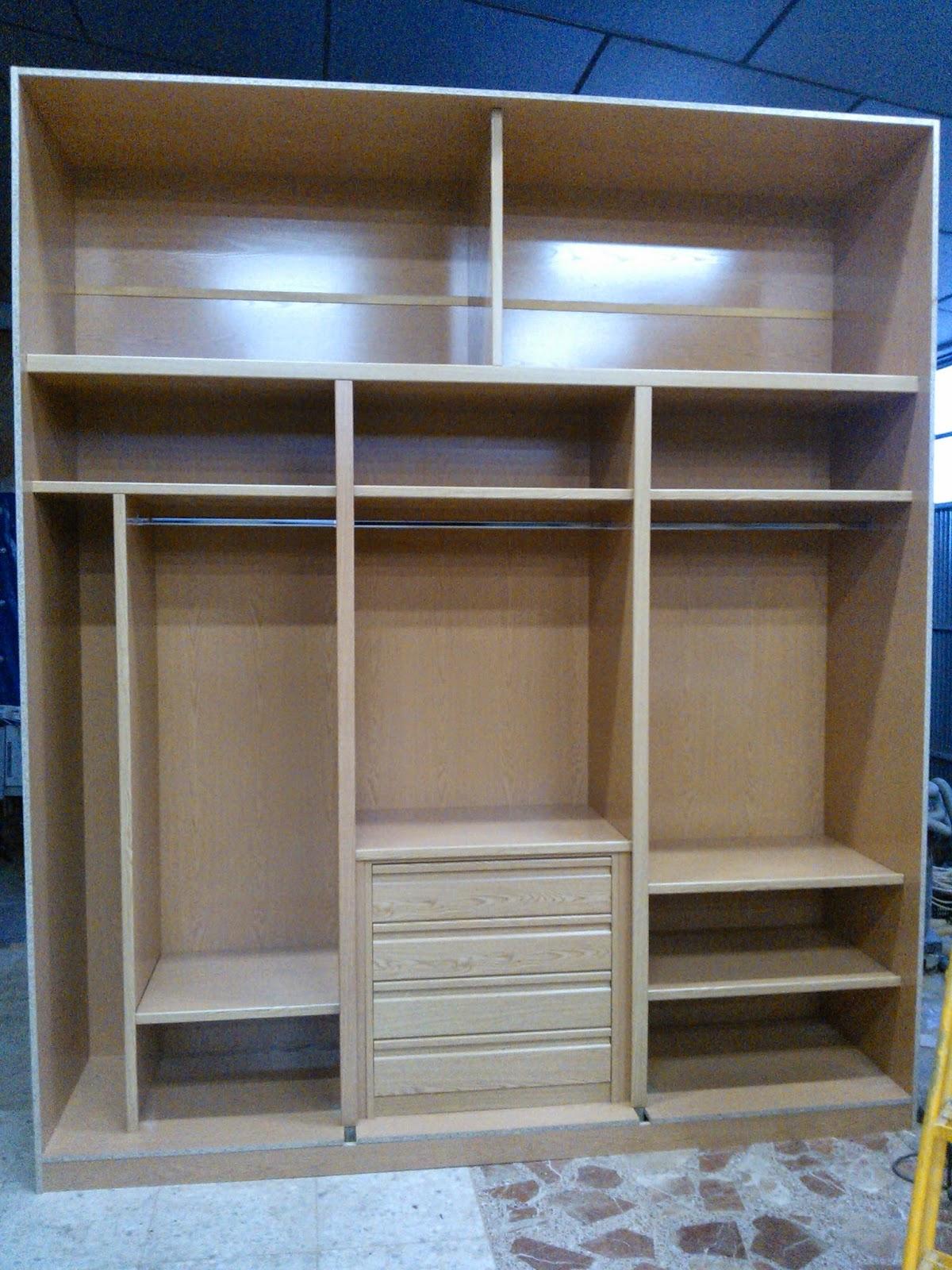 Madera y mueble armario empotrado - Armarios de hierro ...