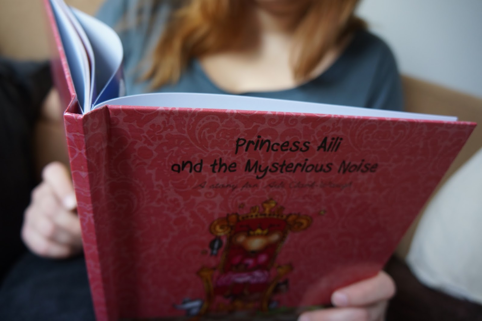 i just love it personalised gifts princess and the mysterious noise book
