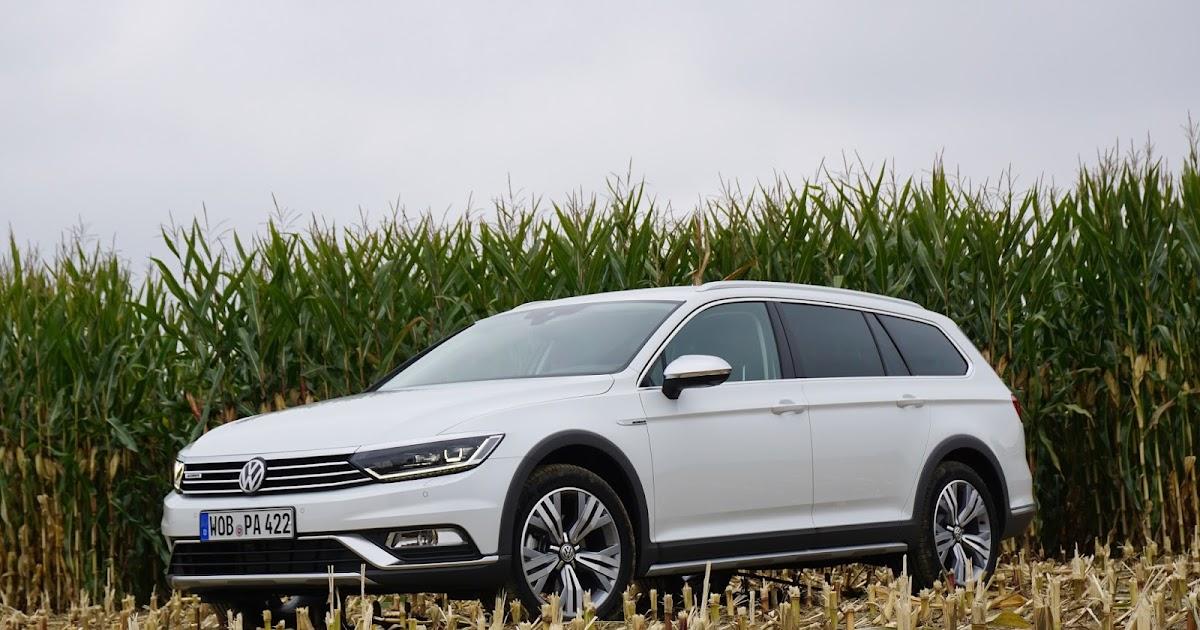 Bil og Motorbloggen: Prøvekjøring: Volkswagen Passat Alltrack Volkswagen Passat