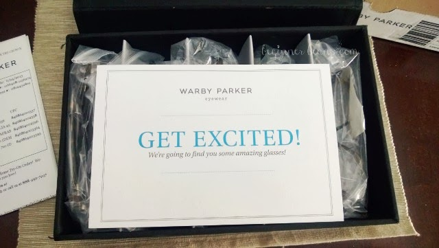 unboxing warby parker glasses