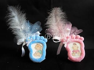 ayak çerçeve bebek şekeri