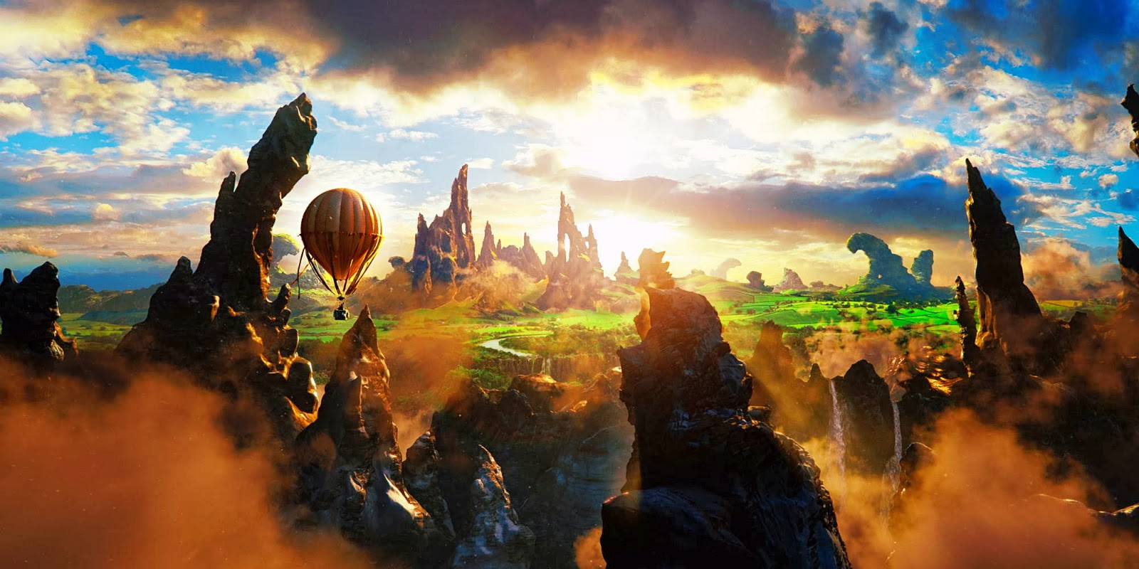Oz The Great And Powerful 3d Movie Hd Wallpapers Hd  - oz the great and powerful 3d movie wallpapers