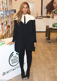 ASOS, Collared, Colour Block, Leona Lewis, Monochrome