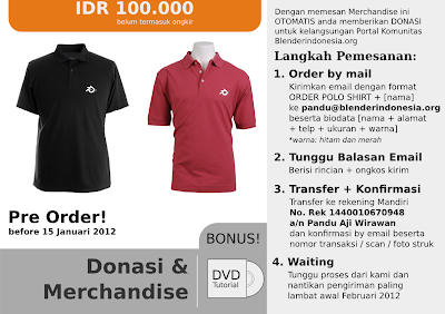 [CLOSED] Donasi + Merchandise Blender Indonesia
