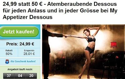 Groupon: 50-Euro-MyAppetizer-Gutschein für 24,99 Euro