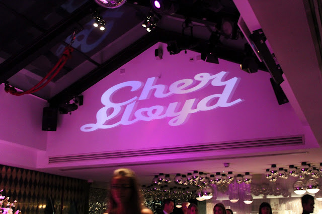 Cher Lloyd fragrance launch