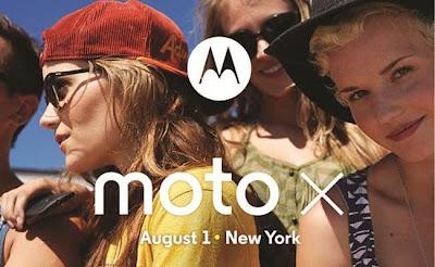Tras muchas días de rumores y expectativas Motorola al fin ha confirmado de forma oficial la fecha de presentación del Moto X, el primer smartphone de la firma que saldrá a la venta bajo el ala de Gooogle. De acuerdo con un twitt que han publicado en su cuenta oficial, el Moto X será presentado el primer día del mes de Agosto en un evento que se llevará a cabo en Nueva York. Características del Moto X De acuerdo con características que se vienen rumoreando desde hace algunos meses, el Moto X vendría con una combinación de harware que lo