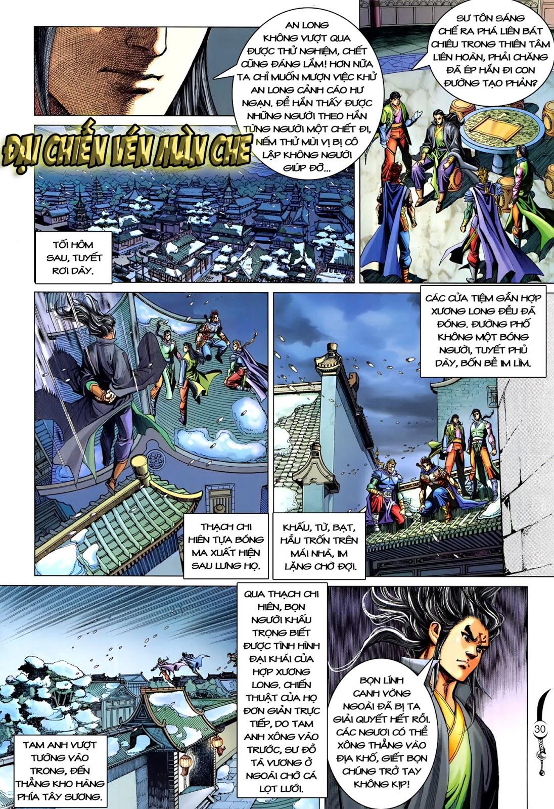 Đại Đường Song Long Truyện chap 216 - Trang 32