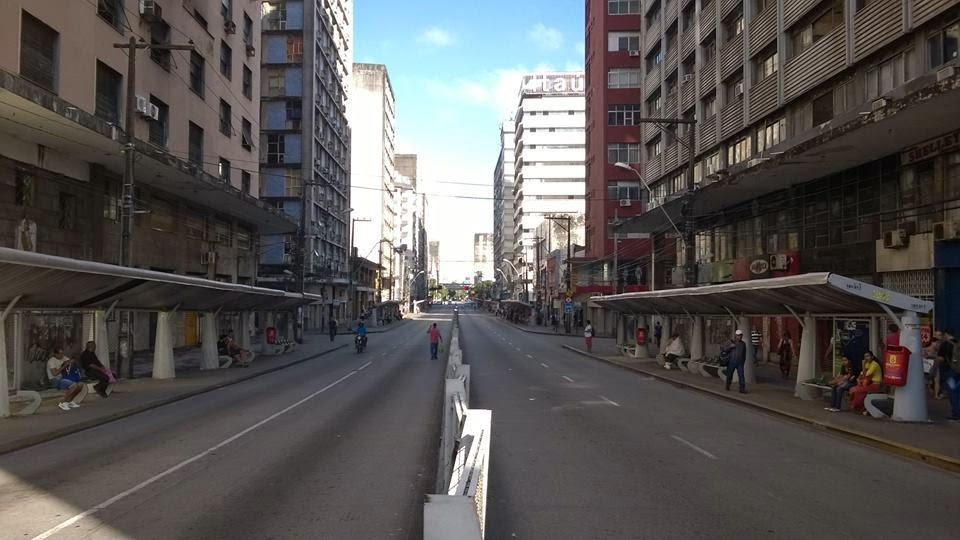 Recife sem ônibus – segunda-feira dia 25-08-2014