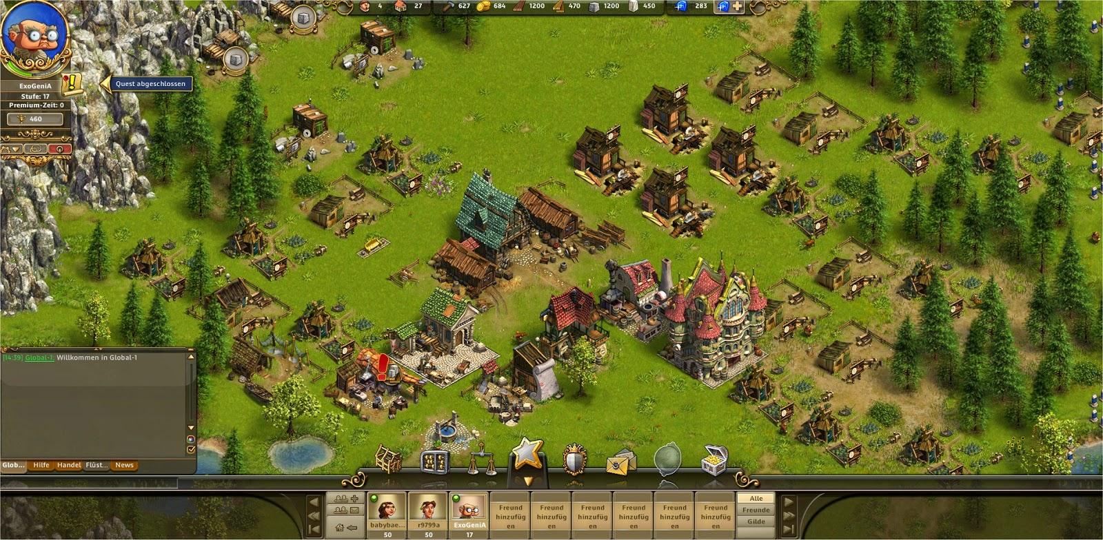 Die Siedler Online Dorf
