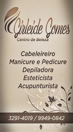 GIRLEIDE GOMES CENTRO DE BELEZA