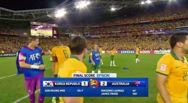 تحميل ومشاهدة اهداف مباراة كوريا الجنوبية و أستراليا 1-2 نهائى كأس الأمم الآسوية