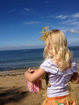 DIY Starfish Costume with mermaid hawaii