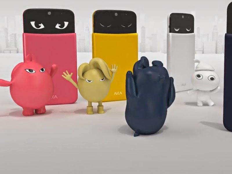 Spesifikasi LG AKA, HP Android Canggih Dengan Fitur Animasi Wajah