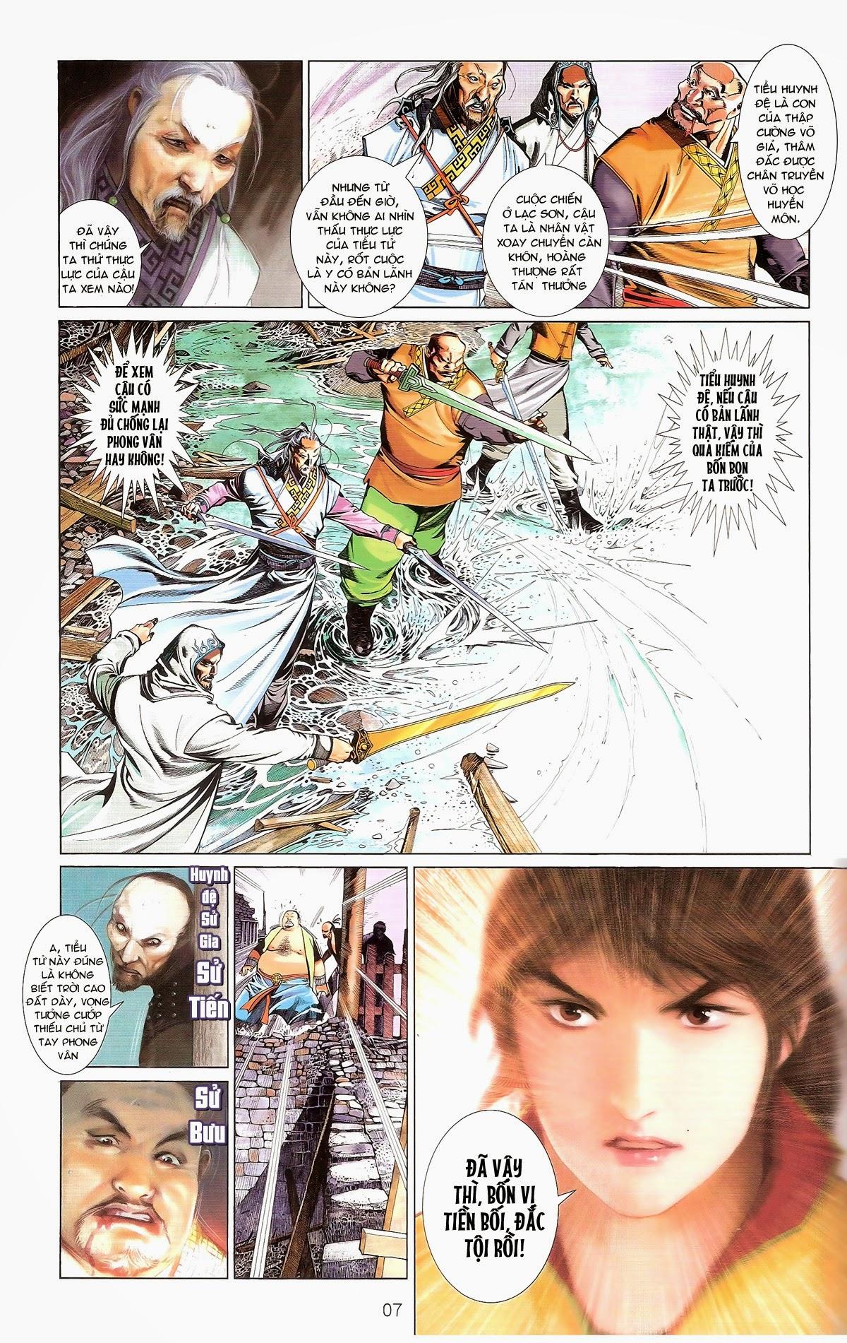 Phong Vân chap 674 – End Trang 9 - Mangak.info